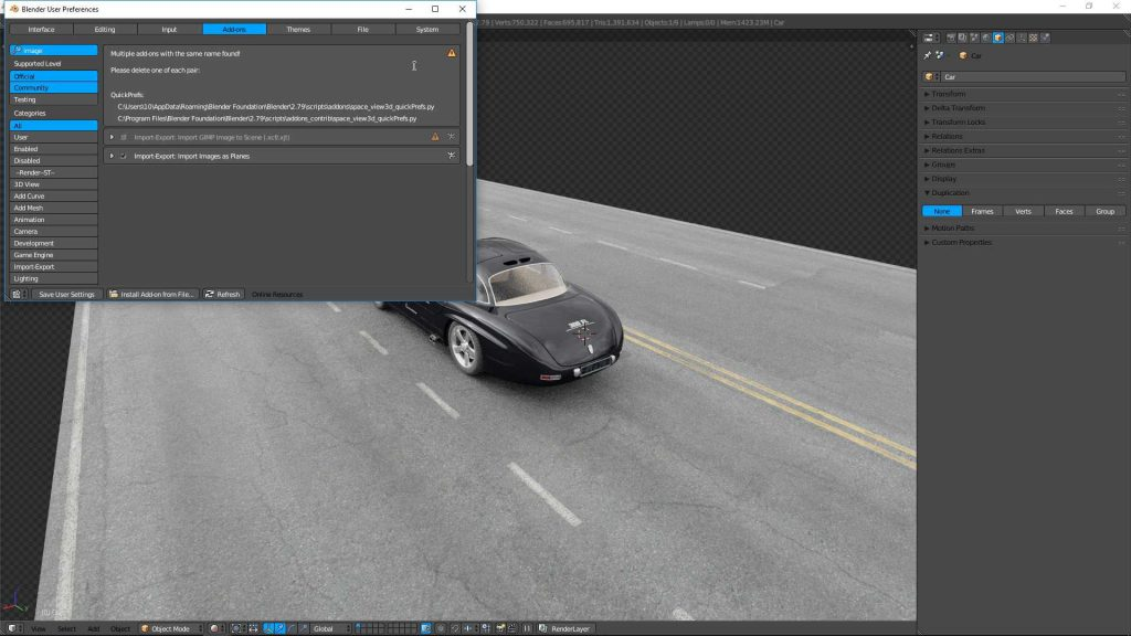 activate-images-as-planes-blender-tutorial